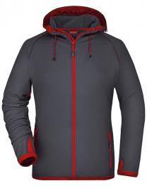 Ladies` Hooded Fleece